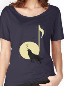 A song of Wolf and Moon Women's Relaxed Fit T-Shirt