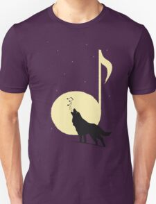A song of Wolf and Moon Unisex T-Shirt