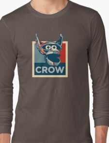 Vote Crow T. Robot Long Sleeve T-Shirt