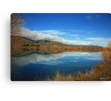 Roadside Reflections Canvas Print