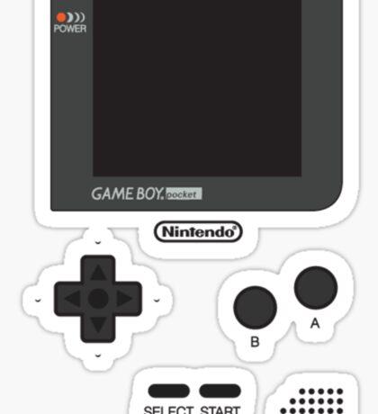 gameboy color Sticker