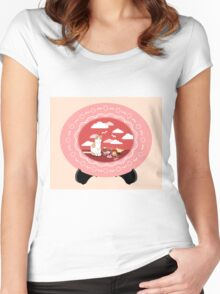 Desserts & Pastry Dreams Women's Fitted Scoop T-Shirt