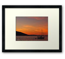 Daydream Sunset - Limited Edition Print 1/10 Framed Print