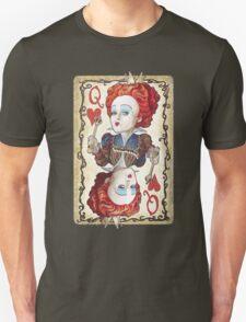 alice in wonderland red queen T-Shirt