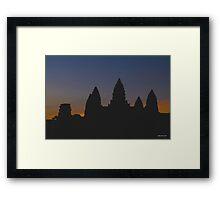Angkor Sunrise - Limited Edition Print 1/10 Framed Print