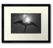 Frigate Silhouette - Limited Edition Print 1/10 Framed Print