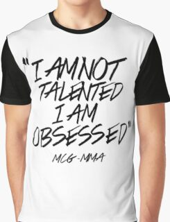 Conor McGregor - Obsessed Graphic T-Shirt