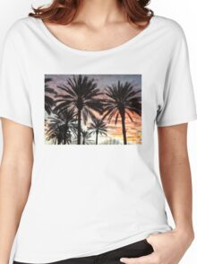 Sunrise Palms Women's Relaxed Fit T-Shirt