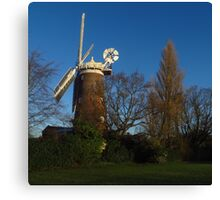 Buttrum's Mill, Woodbridge, Suffolk Canvas Print