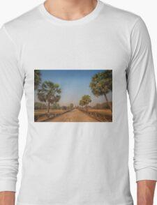 The Walk to Angkor Wat Long Sleeve T-Shirt