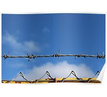 Barbed wire heaven  Poster