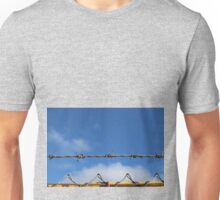 Barbed wire heaven  Unisex T-Shirt