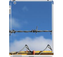 Barbed wire heaven  iPad Case/Skin