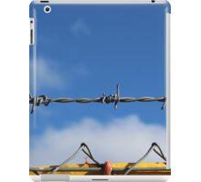 Barbed wire heaven  iPad Case/Skin