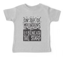 On Top Of Mountains Baby Tee