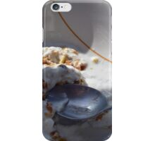 A bowl of cereals and yogurt. iPhone Case/Skin