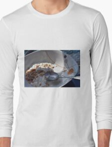A bowl of cereals and yogurt. Long Sleeve T-Shirt