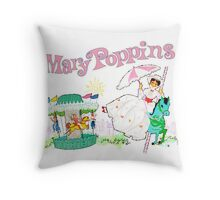 Jolly Holiday Throw Pillow