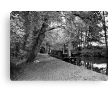 Wales UK in B&W Canvas Print