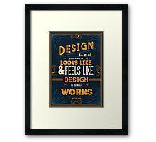 Design Works Framed Print