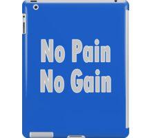 Super Saiyan Says - No PAIN no GAIN T-Shirt Fitness Sticker iPad Case/Skin