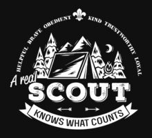 A real scout knows what counts Baby Tee