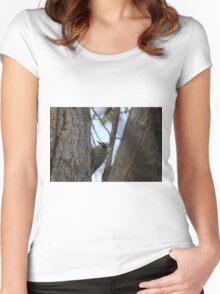 Woodpecker Women's Fitted Scoop T-Shirt