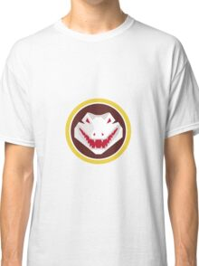 Alligator Head Circle Retro Classic T-Shirt