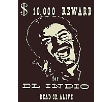 El Indio Photographic Print