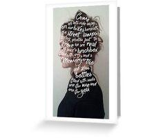 Zoë Alexandra Greeting Card