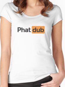 phat dub Women's Fitted Scoop T-Shirt