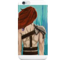 Gods Do Not Smile Upon Weak Men iPhone Case/Skin