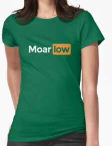 moar low Womens Fitted T-Shirt
