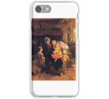 William Henry Knight - The Youngest Child iPhone Case/Skin