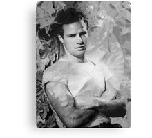 Johnny Strabler goes to Hollywood Canvas Print