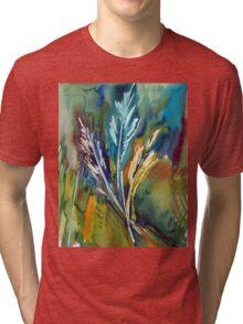Grass Harp 003 Tri-blend T-Shirt