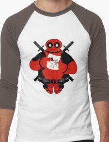 Baymax Pool Men's Baseball ¾ T-Shirt