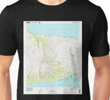 USGS TOPO Map Hawaii HI Molokai Airport 349596 1993 24000 Unisex T-Shirt
