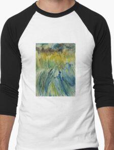 Grass Harp 004 Men's Baseball ¾ T-Shirt
