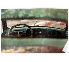 oblivion wheel old car Poster