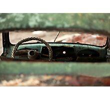 oblivion wheel old car Photographic Print