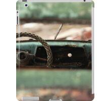 oblivion wheel old car iPad Case/Skin