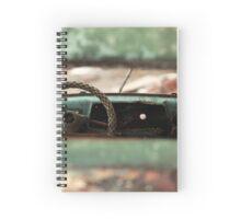 oblivion wheel old car Spiral Notebook