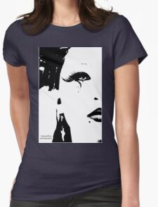 Sumi-iro Womens Fitted T-Shirt