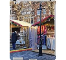 Salisbury Christmas Market, Wiltshire, UK iPad Case/Skin