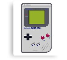 Game Boy Pixel Art Canvas Print