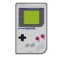Game Boy Pixel Art Photographic Print