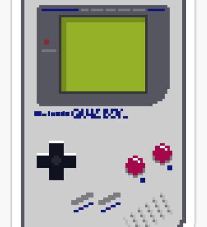 Game Boy Pixel Art Sticker