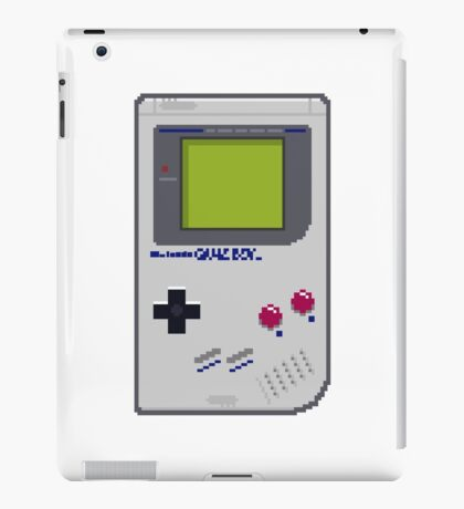Game Boy Pixel Art iPad Case/Skin
