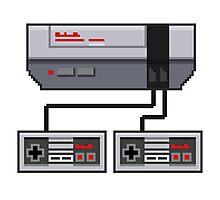 NES Pixel Art  Photographic Print